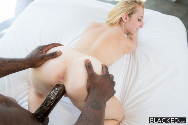 Blacked First Interracial for Beautiful Blonde Taylor Whyte with Milky Skin 15