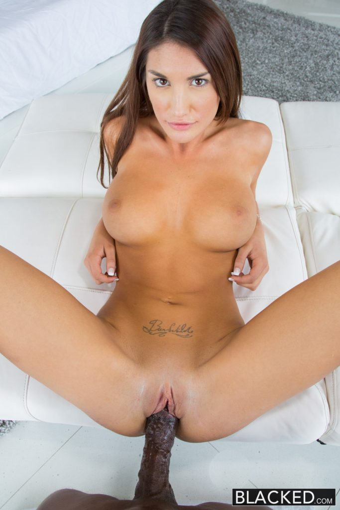 Blacked real model august ames loves black cock 4