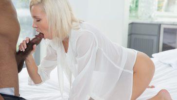 Blacked Kacey Jordan in Preppy Blonde Girlfriend Cheats with BBC! with Jovan Jordan 4