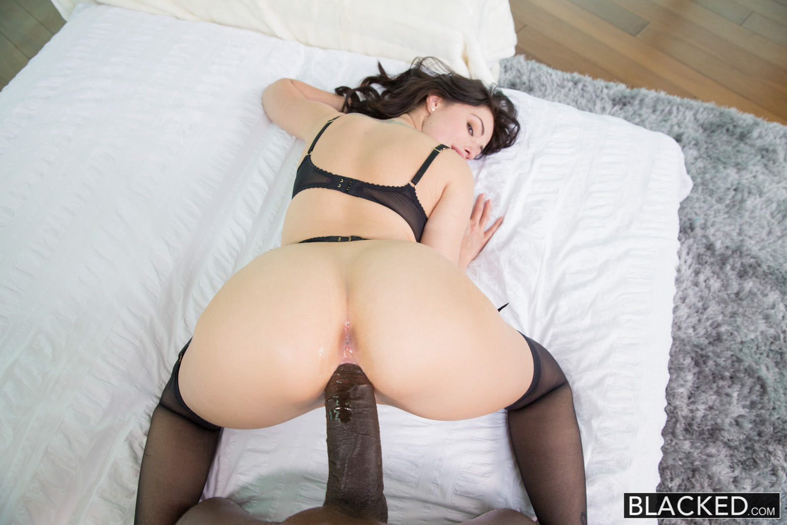 Nude black thick ass models
