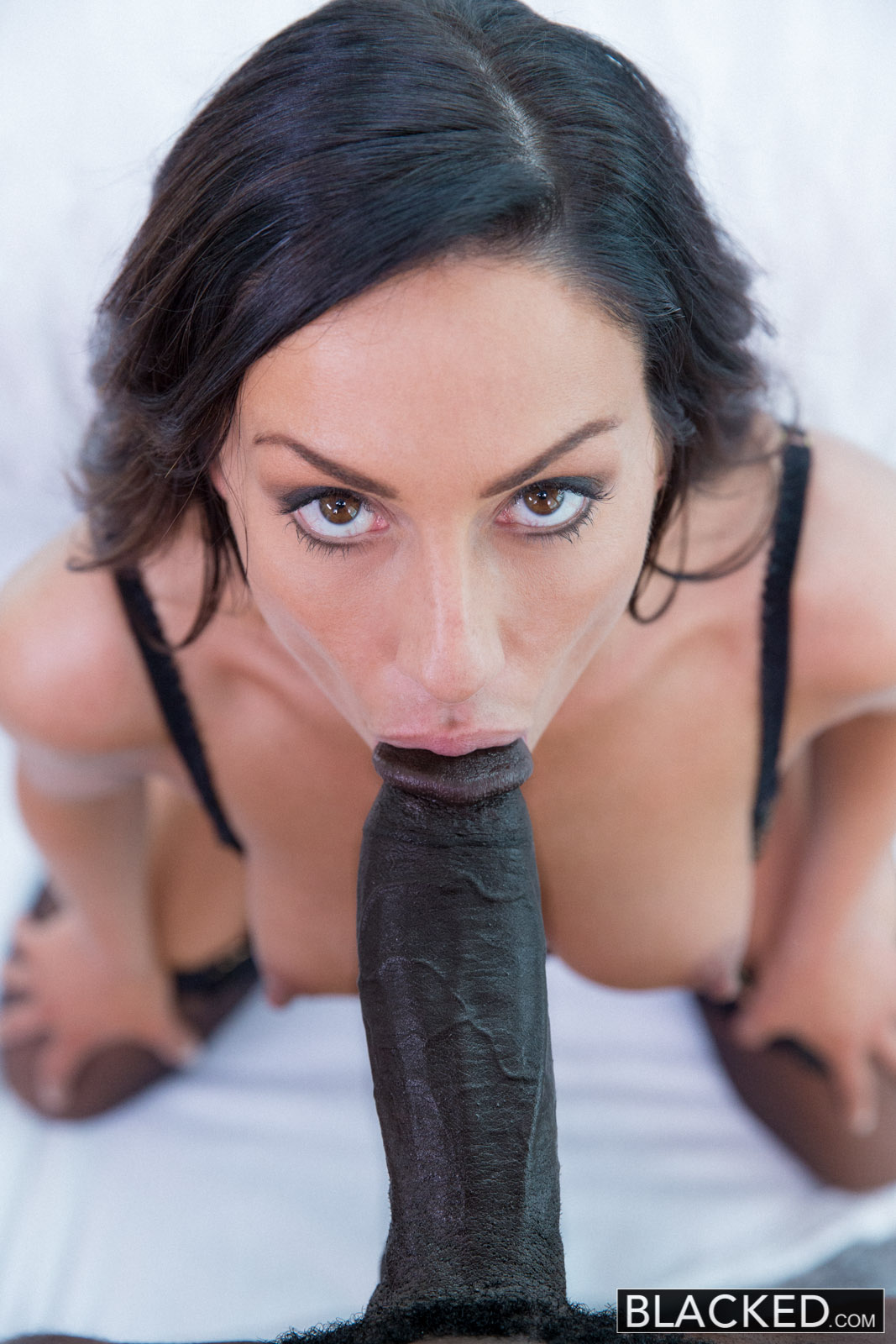black monster dicks facial cum