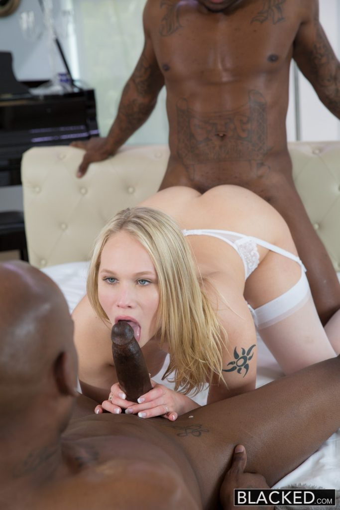 Blacked wife gigi allens takes her first big black cock 4