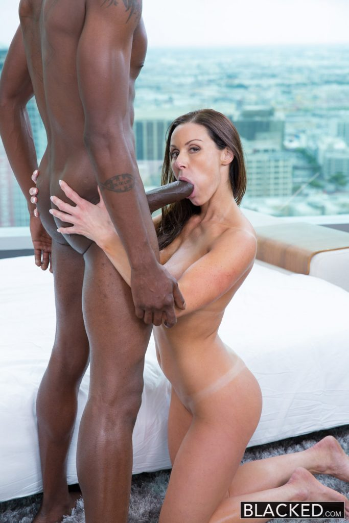 Hot milf gets facial jizz from bbc 1