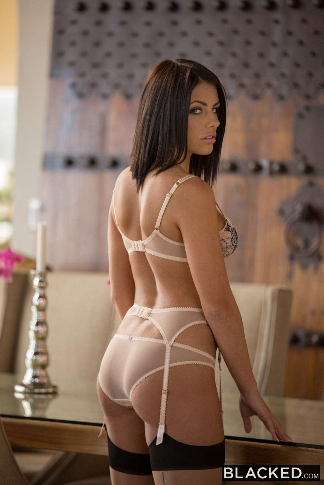 Blacked Adriana Chechik In Brunette Babe Takes Trio Of -8942