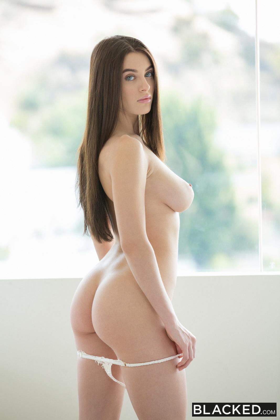 Brunette Blue Eyes Big Tits