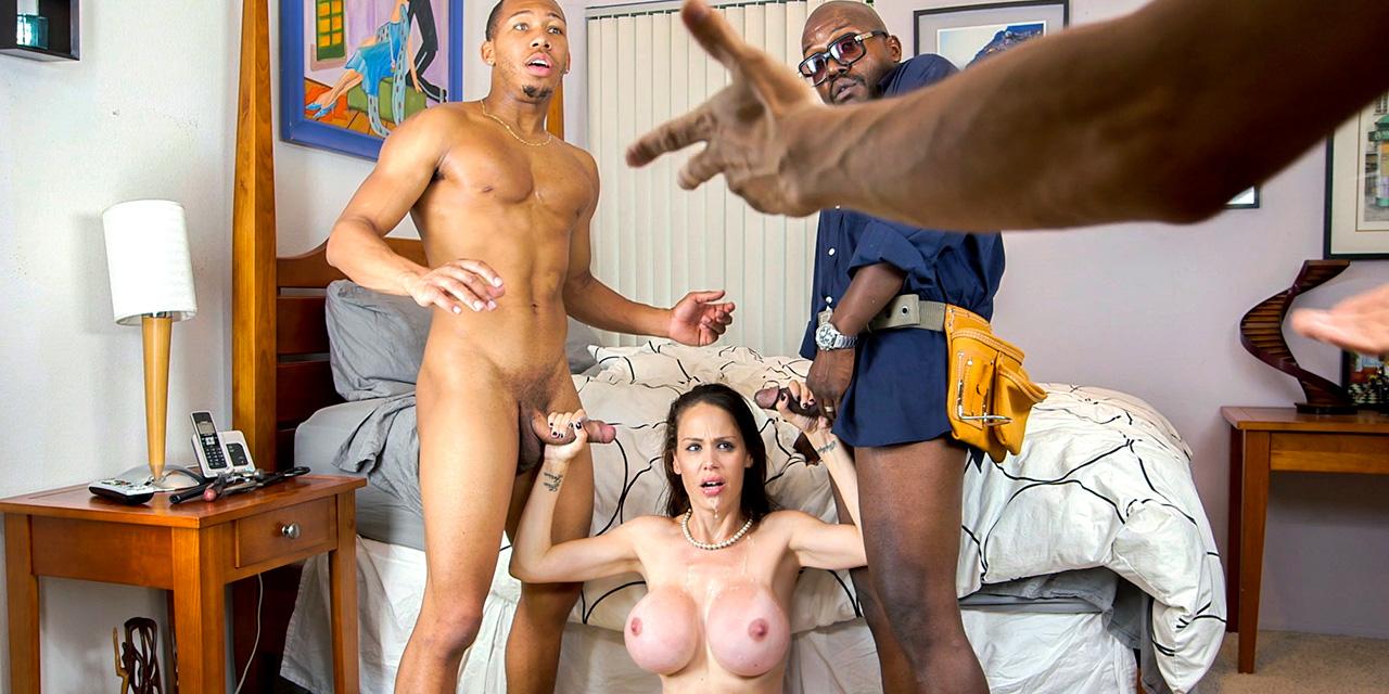 Negros en mamás porno