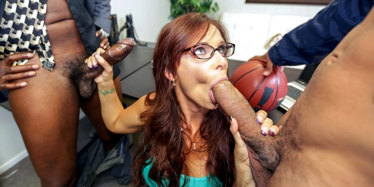 Blacks on Moms Angry MILF gets Double Penetrated