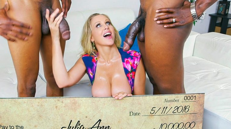 Blacks on Moms Julia Ann Wins Three Big Prizes