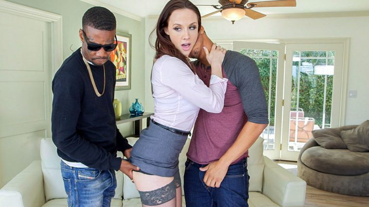 Blacks on Moms Realtor loves it in the ass!