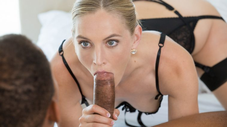 Blacked Mona Wales in Hot Wife Enjoys Her Young Neighbor's BBC with Ricky Johnson 10