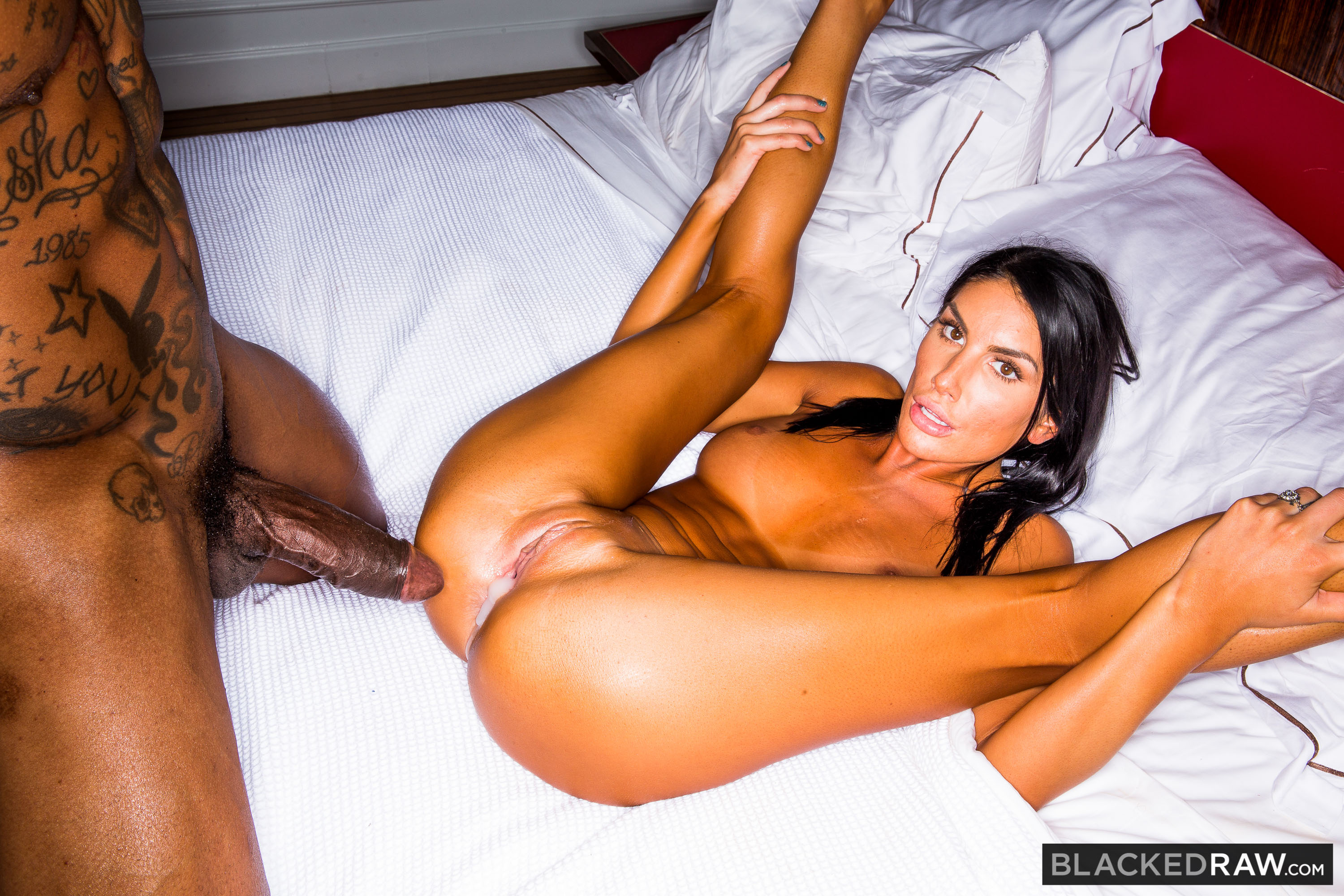 August Ames Blacked