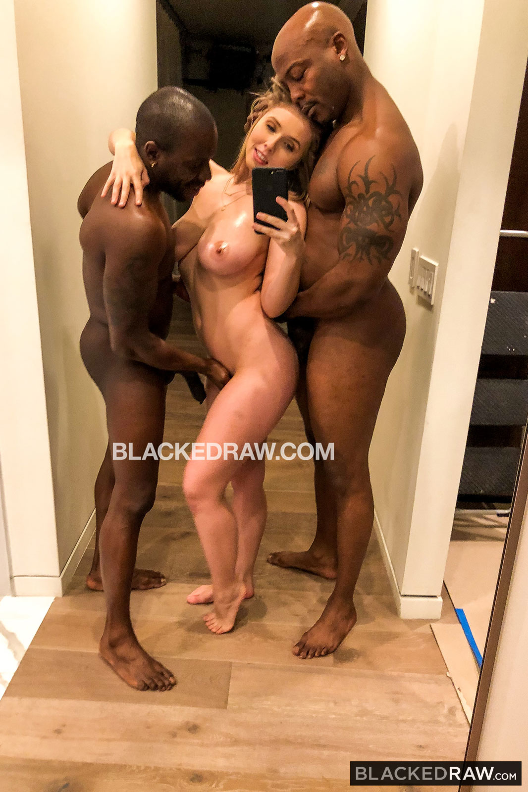 Blackedraw - lena paul - double bbc for me