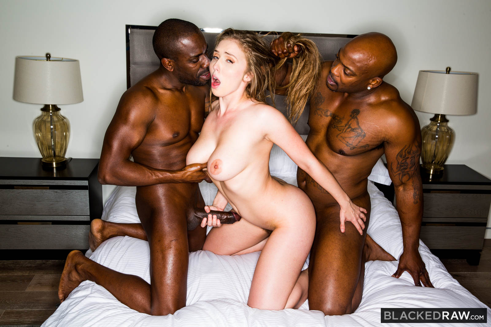 Blacked raw double for me lena paul with nat turnher joss lescaf